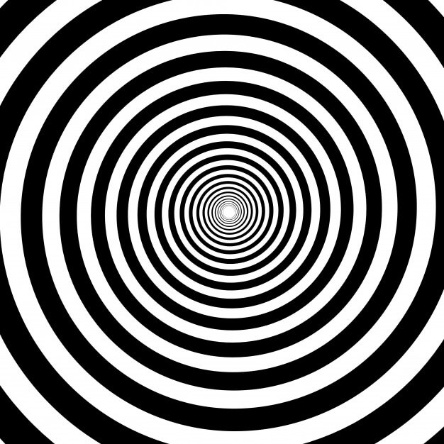 psychedelic spiral with radial rays 97886 207 - هیپنوتیزم و انواع آن